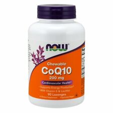 CoQ10 90 Lozenges 200 mg by Now Foods