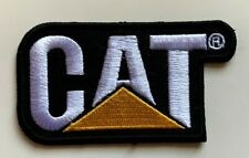 CAT / Caterpiller Logo - Motor Racing, - Embroidered Iron on Sew on PATCH