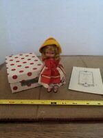 Vintage Doll Over The Hill To Grandma's House #114 Nancy Ann Storybook Dolls box