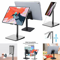 Universal Phone Tablet Stand Adjustable Desktop Holder Mount for iPad iPhone New