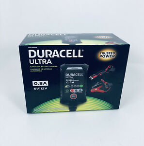 Duracell Ultra Automatic Battery Charger Maintainer .8A 6V/12V ~ SLC10002 ~