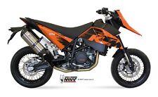SCARICHI MIVV SUONO COMPATIBILE PER KTM 690 SM 2007 > 2012 INOX 2 BOLT-ON NO KAT