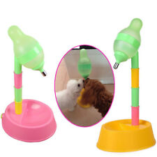 New Pet Dog Water Bottle Drinking Fountain Automatic Feeder Adjustable Dispenser