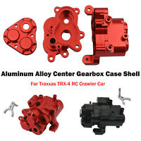 For Traxxas TRX-4 RC Crawler Car Aluminum Alloy Center Gearbox Case Shell Parts