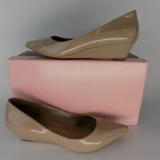 Bandolino Yara Wedge Pump Natural Women Shoes SZ 7 M AL2135