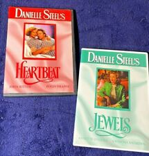 Danielle Steel's Heartbeat & Jewels ~ 2 DVD lot ~ Free Shipping !