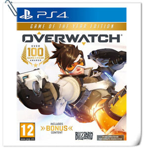 PS4 Overwatch Game of the Year Edition GOTY SONY Blizzard Action Games