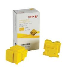 Xerox Phaser CQ8570 Genuine Solid Ink 2 Stick Yellow 108R00943 for ASIA PACIFIC