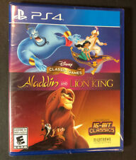 Disney Classic Games [ Aladdin and the Lion King ] (PS4) NEW