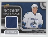 (68897) 2015-16 UPPER DECK JERSEY ROOKIE MATERIALS JAKE VIRTANEN #RM-JV