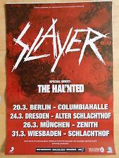 SLAYER  2010  TOUR -- orig.Concert Poster - Konzert Plakat  A1  NEU