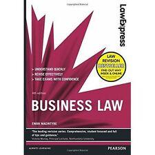 Law Express: Business Law by Ewan MacIntyre (Paperback, 2014)