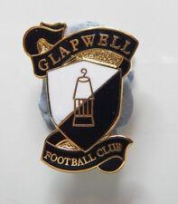 New listing Glapwell Football Club Enamel Badge - Non League Football Clubs -