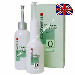 Perm lotion For Difficult Resistant Hair Goldwell Biocurl Top Form No 0 Kit