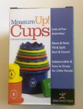 Discovery Toys Measure Up! Cups Educational Stacking & Nesting Embossed Numbered