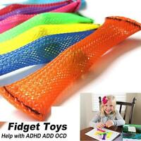 Braided Mesh Tube Decompression Toy For Kids Adults helped ADD OCD Autism KV