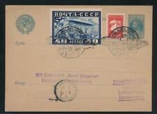 RUSSIA GRAF ZEPPELIN MOSCOW FLIGHT