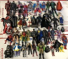 Action Figure Lot 40+ Loose Mixed Marvel DC He Man 80's 90's 2000's Batman Used