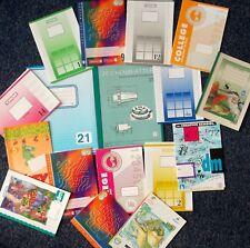 50 Hefte Schreibhefte A5 A4 Arbeitsblock Zeichenblock Schulheft Restposten Heft