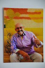 Oscar D 'Leon signed 15x20cm foto autógrafo Autograph IP-el diablo de la salsa