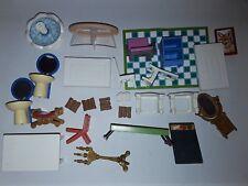 Lot Playmobil nombreux accessoires mobilier maison