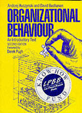 Organisational Behaviour: An Introductory Text-ExLibrary
