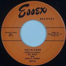 BILL HALEY w/ COMETS: Pat-A-Cake / Fractured ESSEX Rockabilly VG++ 45 Super!