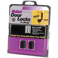 McGard 76058 Door Lock Set for Jeep Wrangler LK, TJ, and Unlimited LJ 2-Door