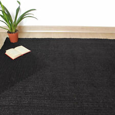Natural Fiber Rugs Hand Braided Floor Mats Reversible Area Carpet 270 x 360 cm