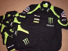 Alpinestars TECH 3 MONSTER ENERGY TEAM ISSUE Crew Camicia XL.