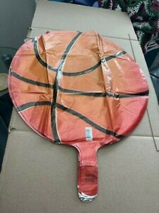 """18"""" Basketball Balloon Foil, Sports Themed Party, Basketball Party, Sports Party"""