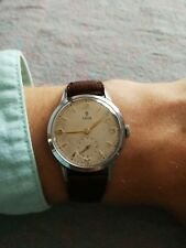 Tudor (Rolex) Gents watch 1950s - ETA Caliber 1260 with Subsidiary Second Hand