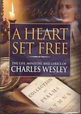A Heart Set Free, Ministry & Lyrics of Charles Wesley DVD,All Regions,New/Sealed