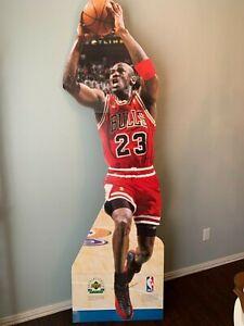 1997 Michael Jordan Life-Sized Cardboard Cutout Stand-Up - Upper Deck