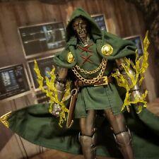 Custom Mezco One:12 Collective DOCTOR DOOM marvel legends 1:12 action figure lot