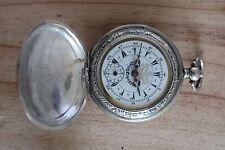 Antique Ottoman Military Silver J. Dent London Full Hunter Pocket Watch