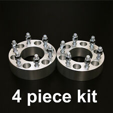 "4pc 1.25"" Adapter Spacers - allows 6x4.5 Cars to use 6x5.5 Wheels - 1/2"" Studs"
