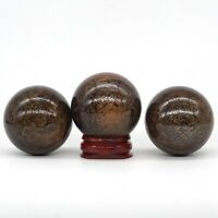 40MM Natural Gemstone Bronzite Crystal Reiki Healing Energy Ball (1pcs)