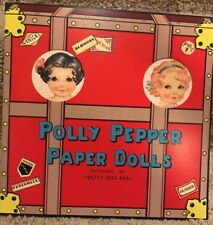 Polly Pepper Paper Dolls