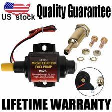 42S Universal Low Pressure Micro Electric Gasoline Fuel Pump 42 GPH 2-3.5PSI 12V