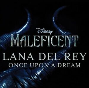 """LANA DEL REY """"ONCE UPON A DREAM"""" From Disney Maleficent RARE CD PROMO"""