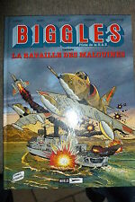 BD biggles n°10 la bataille des malouines EO 1997 TBE  aviation RAF