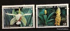 SELLOS NUEVOS NUEVO CALEDONIA Scott 543/4 Flores flores 98m298