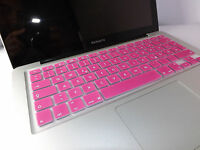 SILIKON Abdeckung Tastatur SCHUTZ MacBook Air Pro QWERTZ Rosa