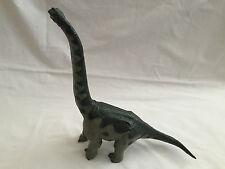 "Carnegie Safari Ltd Green Brachiosaurus Dinosaur Prehistoric Toy 14"" 1988 Heavy"