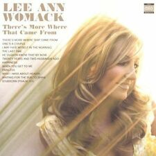 LEE ANN WOMACK - Theres More Where That Came From - CD - **NEW/STILL SEALED**