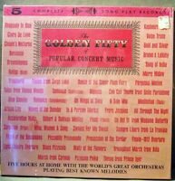 The Golden Fifty of Popular Concert Music V/A LP SS SEALED 5 x LP BOX Set NM-