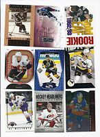 18 X 1990S 2000S NHL PLAYERS INSERT CARD