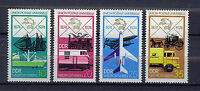 ALEMANIA/RDA EAST GERMANY 1974 MNH SC.1585/1588 Cent of UPU