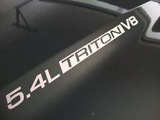 5.4L Triton V8 Ford F150 F250 F350 FX4 Hood Decals 02 03 04 05 06 07 08 09 2010